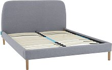 Simba Upholstered Bed Frame with Headboard,