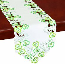 Simhomsen Irish Clover Table Runners, Embroidered
