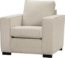 Simkins Armchair Brayden Studio Upholstery: Cream