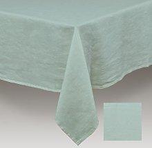 Simla - Table cover linen stoneware turquoise -