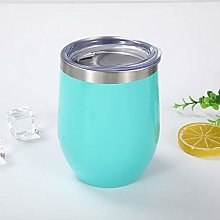 Simple 304 Stainless Steel Eggshell Cup Red Wine