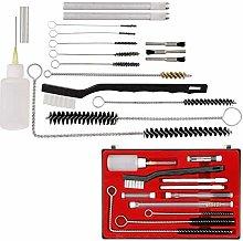 Simple Air Brush Spray Gun Cleaning Kit 23pc