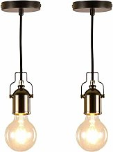 Simple And Cool Wall Lamp Xungzl (2PC Wrought Iron