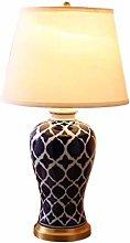 Simple and Creative Ceramic Table Lamp American