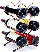 Simple and Creative Desktop Wine Rack Storage Rack