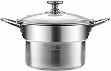Simple and Durable HzPDGStainless Steel Steamer