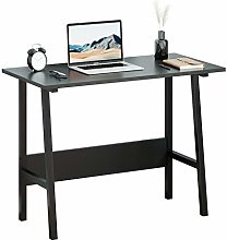 Simple Computer Desk,Wood Home Office Desk Writing