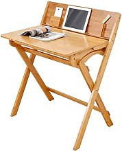 Simple computer table Folding table and chair Desk