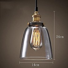 Simple Glass Chandelier Affordable Retro