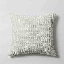 Simple knitted woolen pillowcase, sofa, car