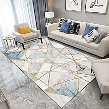 Simple Marble Thick Pile Carpet Nordic Style Home
