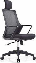 Simple mesh office chair with armrests, rotatable