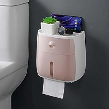 Simple Portable Toilet Paper Holder Plastic