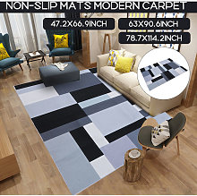 Simple Print Style 3D Non-slip Floor Mat Area Rug