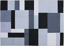 Simple Print Style 3D Non-slip Floor Mat Polyester