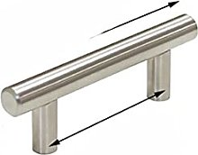 Simple Stainless Steel Kitchen Door Cabinet T Bar