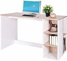 Simple Student Desk Desk Bookcase Combination
