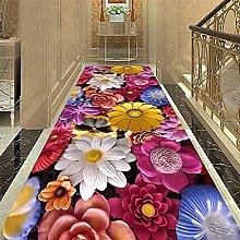 Simple Style Home Decor Carpet 3D Pebbles Entrance