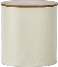 Simple & Traditional Metal Cream Geometric (Large