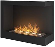 SimpleFire Corner R S Bio Fireplace, Ethanol