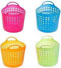 SimpleLife Plastic Office Desktop Storage Baskets