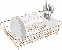 simplywire - Copper Dish Drainer with Cutlery