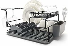 simplywire - Premium Two Tier Dish Drainer -