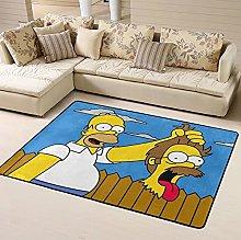 Simpsons Homer J. Area Rug Floor Rugs Living Room