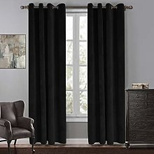 SIMPVALE Blackout Curtain for Bedroom - Super Soft