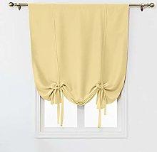 SIMPVALE Blackout Curtain with Rod Pocket -