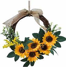 Simulation Bee Day Wreath, 25 Styles, wuayi