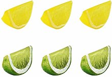 Simulation Fake Slice Artificial Fruit Model Home