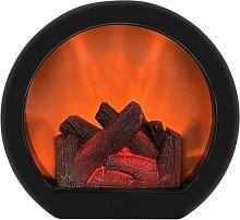 Simulation Flame Fireplace Light, Realistic Led