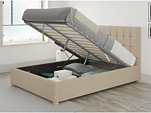 Sinatra Ottoman Upholstered Bed, Kimiyo Linen,