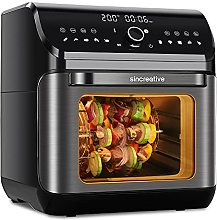 Sincreative Air Fryer Toaster Oven | 10-in-1 Hot