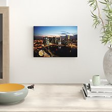 Singapore Skyline Photographic Print Big Box Art