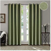 Singinglory 85% Opaque Curtain with Tiebacks 140 x