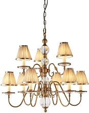 Singita 9-Light Shaded Chandelier Astoria Grand