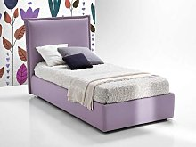 Single bed with fixed base Mila