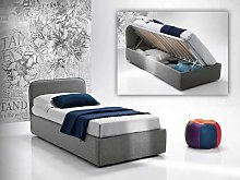 Single bed with side-opening storage Sunny V1