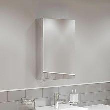 Single Door Bathroom Mirror Cabinet Cupboard