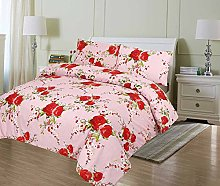 Single Duvet Cover Printed Polycotton 50/50% Duvet