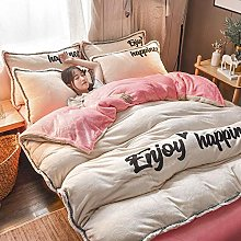 single duvet cover set boys,Winter thick and warm