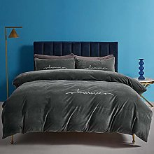 single duvet cover set boys-Winter thickened baby