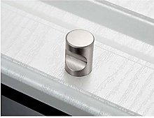 Single Hole Door Handles Knobs Zinc Alloy Cabinet