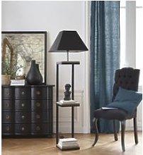 Single Peacock Blue Eyelet Curtain 140x300