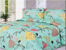 Single Reversible Duvet Quilt Cover Set With