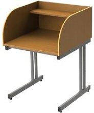 Single Sided C-Leg Study Carrel Starter Desk,
