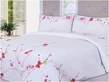Single Super Soft Plain Dyed Printed Duvet Cover
