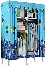 Single Wardrobe Hanging Wardrobe Garderobe Shelf